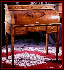 Antique inlay furniture sheraton style furniture marquetry for What is sheraton style furniture